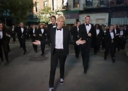 Ellen Degeneres Teases the Oscars, With A Little Help From Some Friends