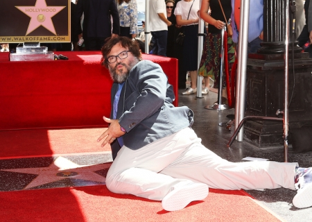 Jack Black Honored on the Hollywood Walk of Fame!
