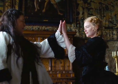 Emma Stone Competes for the Queen's Favor in Film Fest Fave 'The Favourite'!