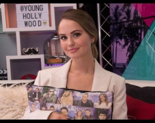 Debby Ryan Tells First Kiss Story In Her Game of Firsts