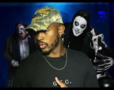 Trevor Jackson Confronts Dark Entities at Knott's Scary Farm