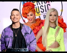 Kane Brown, PatrickStarrr, & More Talk Halloween Costumes & DMing Cardi B at the AMAs