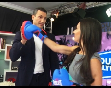 Sparring With Boxing Champ Wladimir Klitschko
