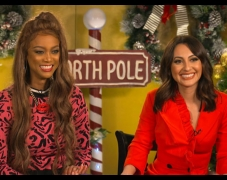 Tyra Banks & Francia Raisa Talk Messages To Take Away From Life-Size 2